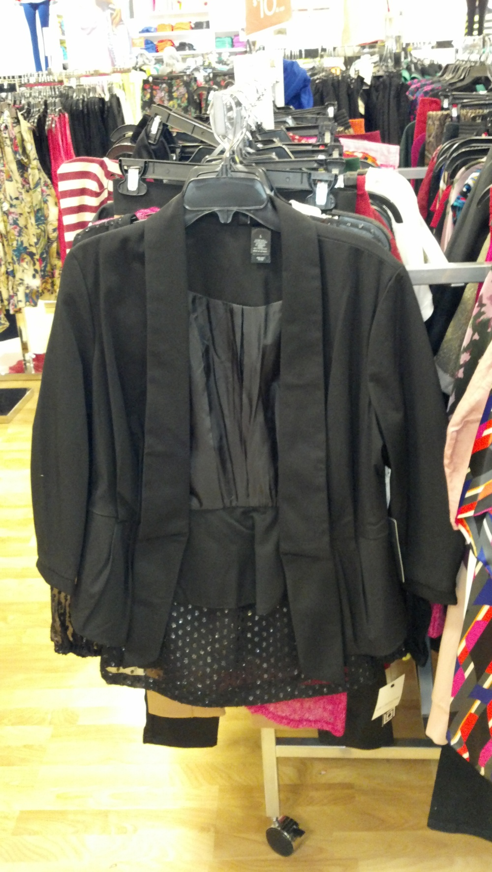 Bisou Bisou Drape Jacket