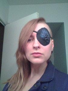 Patchy eye patch