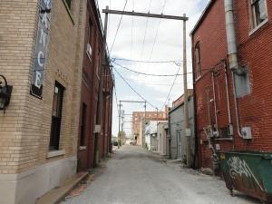 Lurking in alleyways..