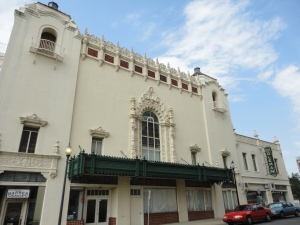 The Coleman Theatre - built late 1920's, at a cost of $600,000.