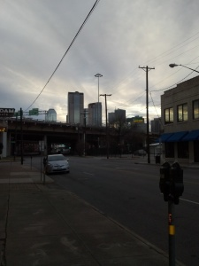 5pm - Cruising around Deep Ellum a few times, gratuitously.
