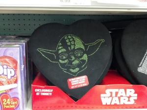"""Nothing says """"I'm a dork, and I bought you something"""" quite like Yoda chocolates."""