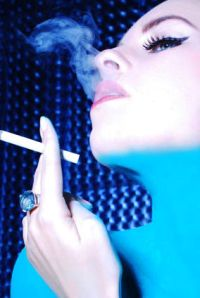 The big blue not wedding ring, back when everyone wanted to shoot me smoking.  (photo by Anthony Chiang)
