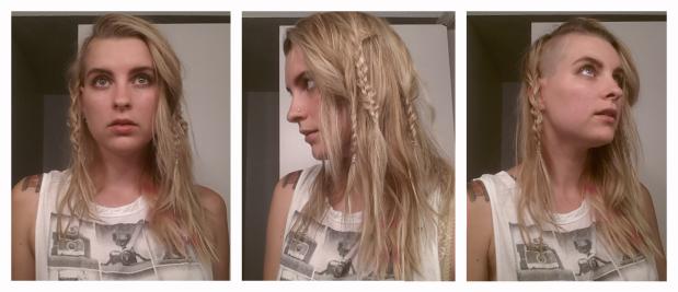 Barbarian braids.