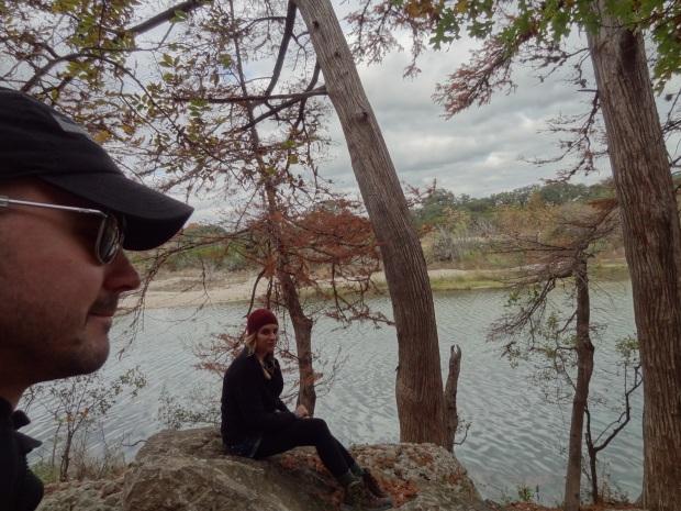 Chilling at Garner State Park.
