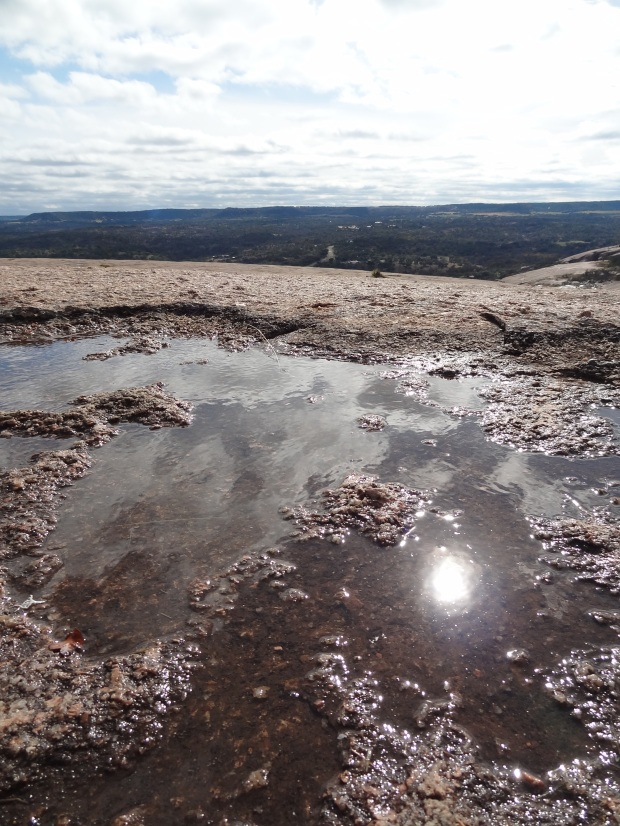 Pools on Enchanted Rock.