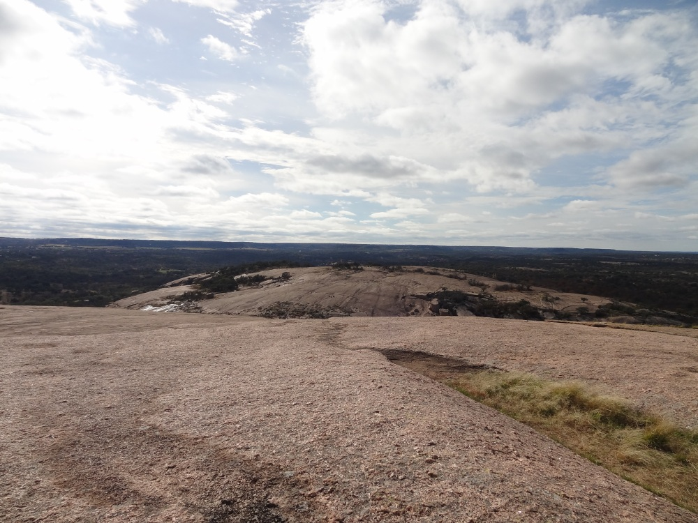 View from Enchanted Rock.