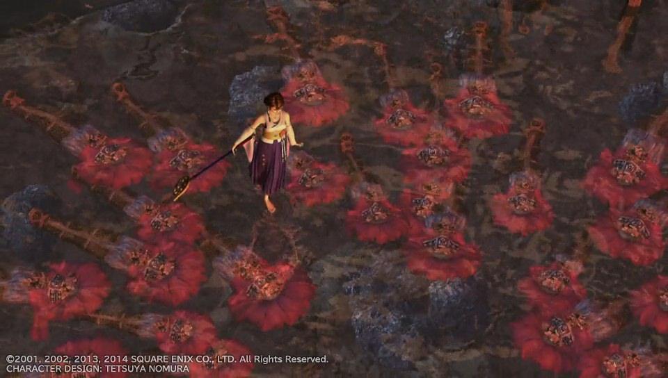 Yuna Final Fantasy X Sending