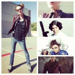 Leia/Chun Li/Guardian crossover outfit