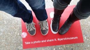 Hashtag Perot Museum.