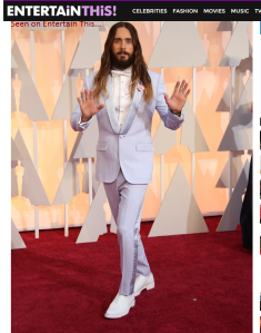 "Jared ""Buddy Christ"" Leto at the Oscars"