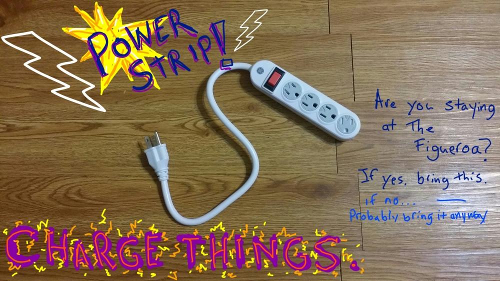 power strip for e3 travel