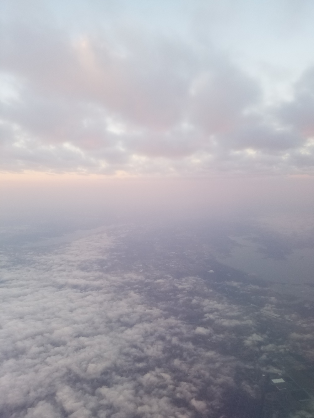 Somewhere between Dallas and STL, December 2016