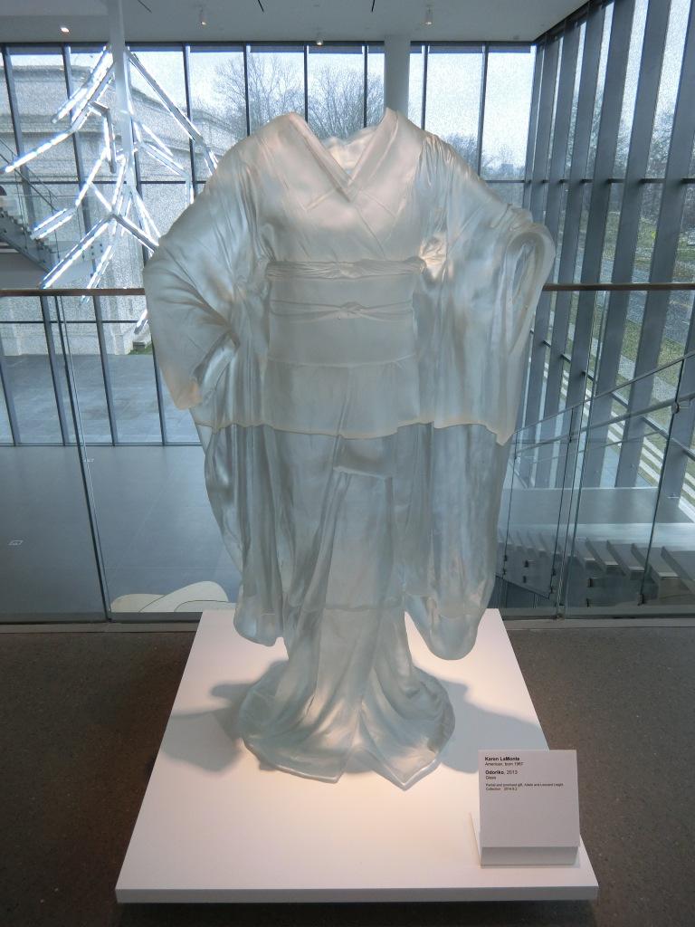 Glass work dress