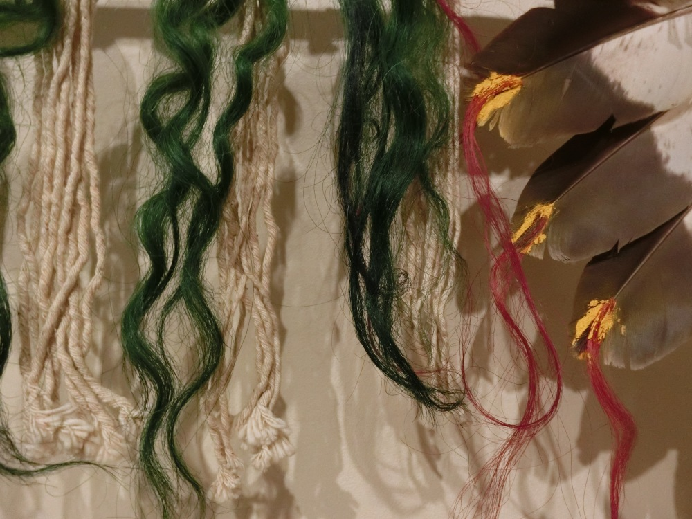 detail colored hair